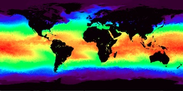 The Multi-scale Ultra-high Resolution (MUR) sea surface temperature (SST) analysis