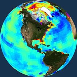 Globe icon / screenshot representing Gravity/Gravitational Field Measurement