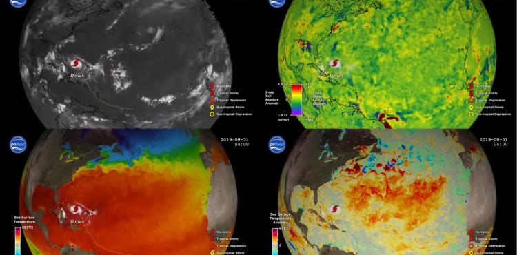 Ocean Response to 2019 Atlantic Hurricane Season