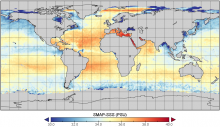 SMAP and Sensing Sea Surface Salinity (SSS)