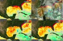 MUR derived SST anomalies