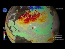 Embedded thumbnail for Sea Surface Temperature Response to 2018 Atlantic Hurricane Season