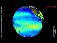 Embedded thumbnail for Sea Surface Salinity from SMAP RSS V4 (2015-2019)