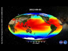 Embedded thumbnail for ABOM GHRSST Level-4 Global Sea Surface Temperature v1.0 in GDS2 format (2008-2019)