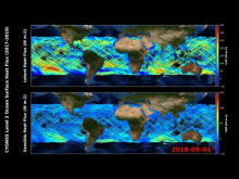 Embedded thumbnail for Ocean Surface Heat Flux from CYGNSS (2017-2019)