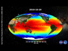 Embedded thumbnail for Sea Surface Temperature from GHRSST Level 4 MUR v4.1 (2002-2019)